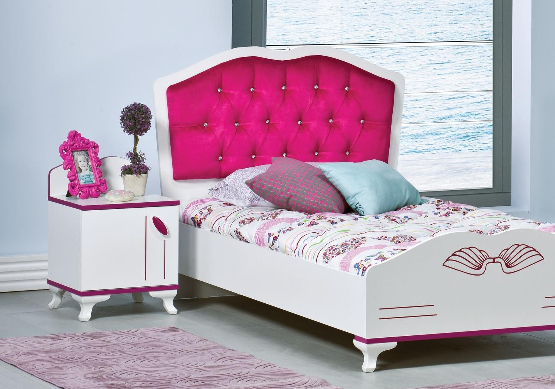 Chambre enfant fille rose ANGEL-1