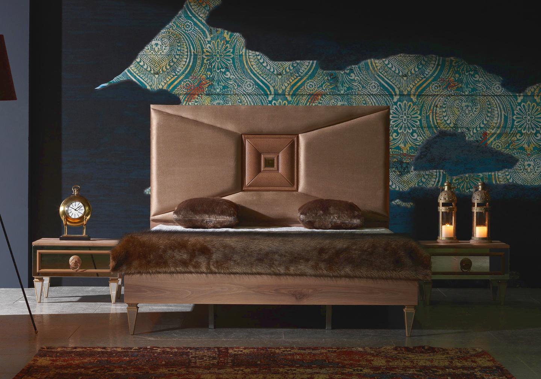 Chambre à coucher noyer KING-4