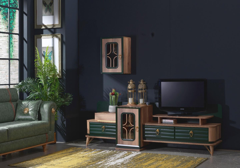 Ensemble meuble TV baroque BUGATTI
