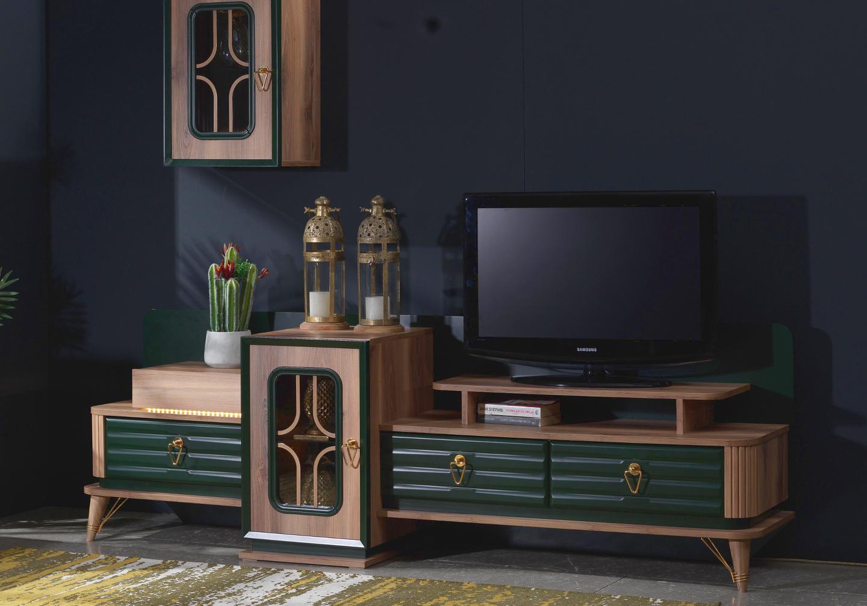 Ensemble meuble TV baroque BUGATTI-2