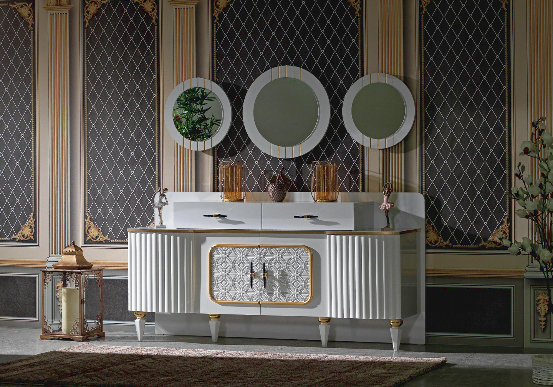 Salle à manger baroque doré SEVILLA-3