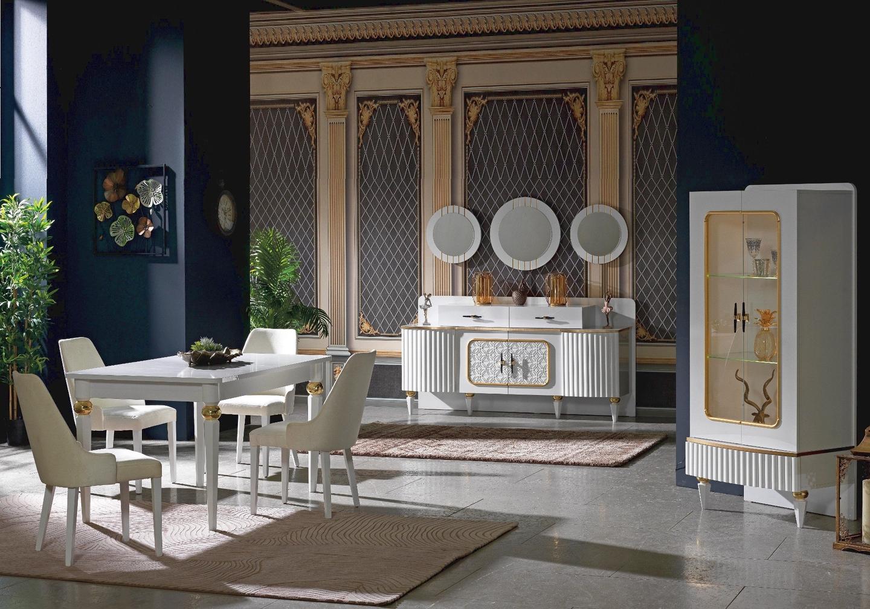 Salle à manger baroque doré SEVILLA-5