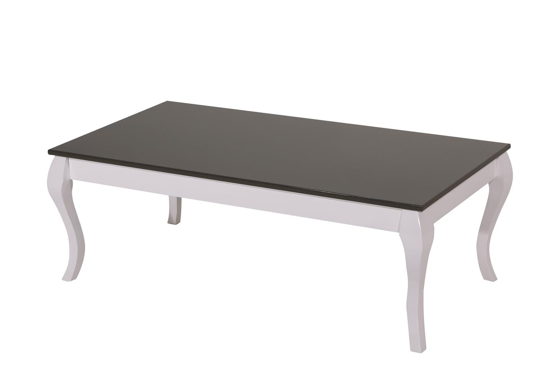 Table basse laqué noir BAROK
