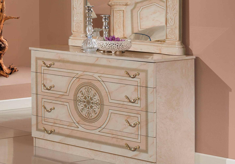 Chambre versace laqué rose ROMA-4