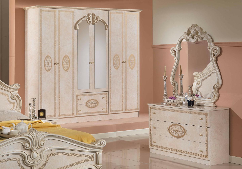 Chambre versace beige doré AMALFI-2