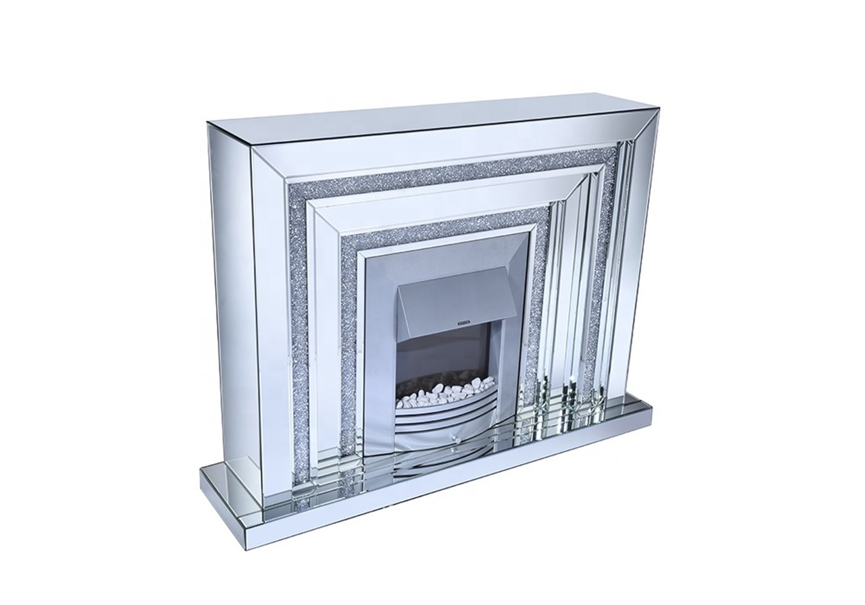 Cheminée électrique design miroir AVA.2