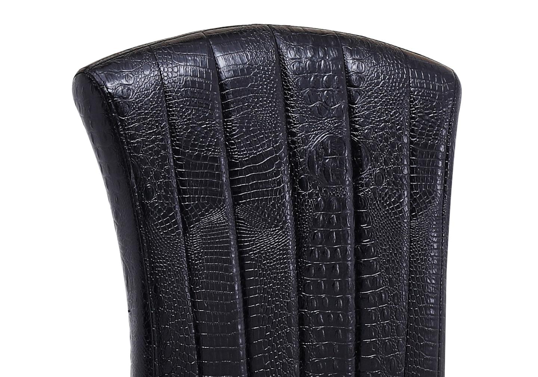 Chaises baroque doré croco noir ÉNO.2