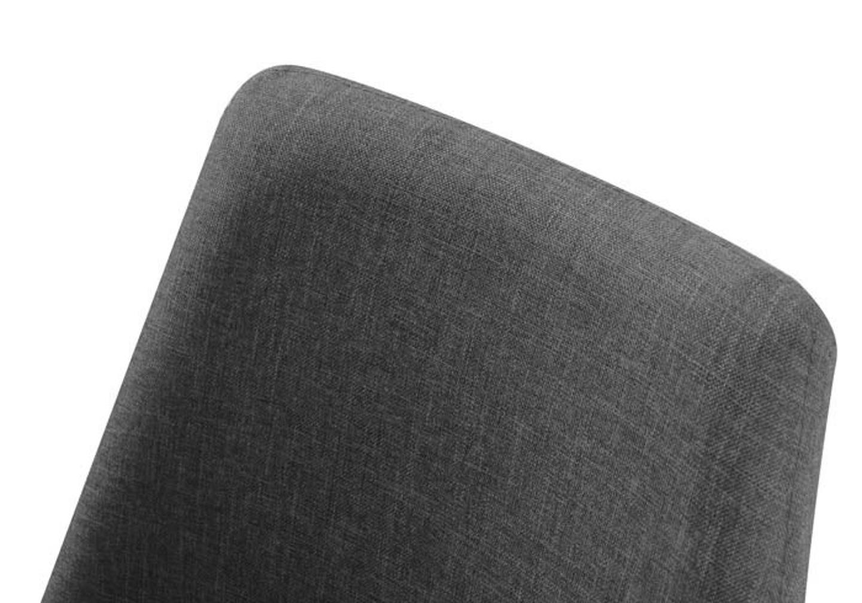 Chaises scandinave tissu gris LOA.4