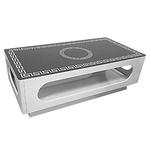 Table basse laqué blanc versace LIA