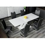 Table design extensible 6 chaises EOL.2