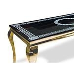 Table repas doré versace NEO.1