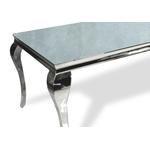 Table repas chromé miroir NEO.1