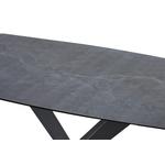 Table repas céramique gris CÉRA.1