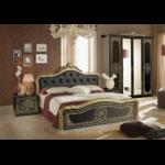 chambre-alice-capitonné-noir-or.1
