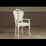 chaise-cuir-accoudoire-cloute-or-greta-beige