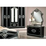 Chambre versace noir argent AMALFI-2