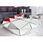Table basse design miroir DIAMANT