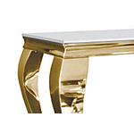 Console doré verre blanc NEO.1