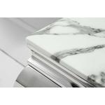Ensemble baroque chromé marbre blanc NEO.1