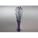 Lampadaire aluminium fleurs led ARIA