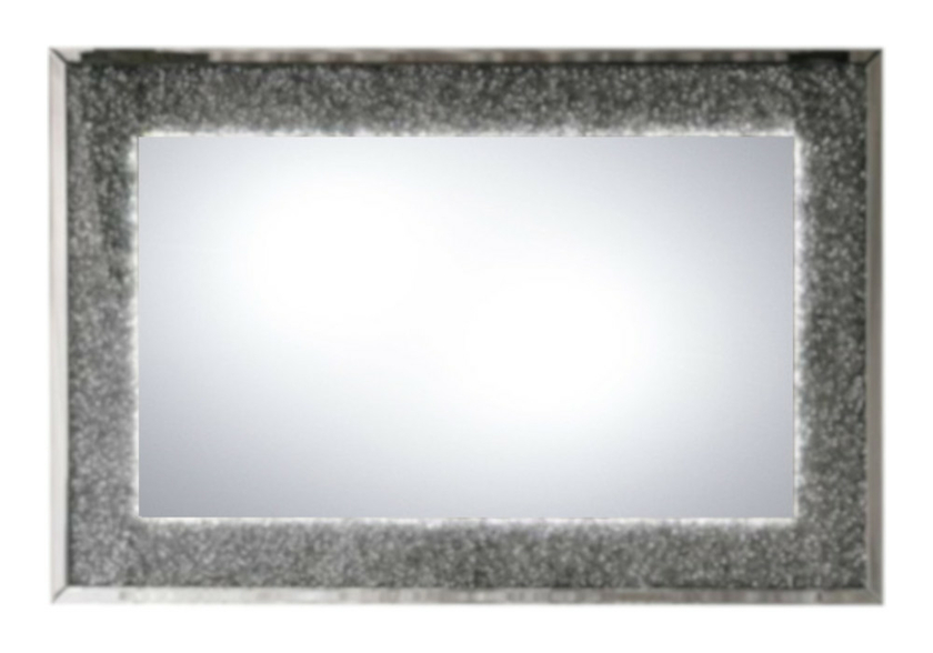 Miroir mural design led diamant AVA