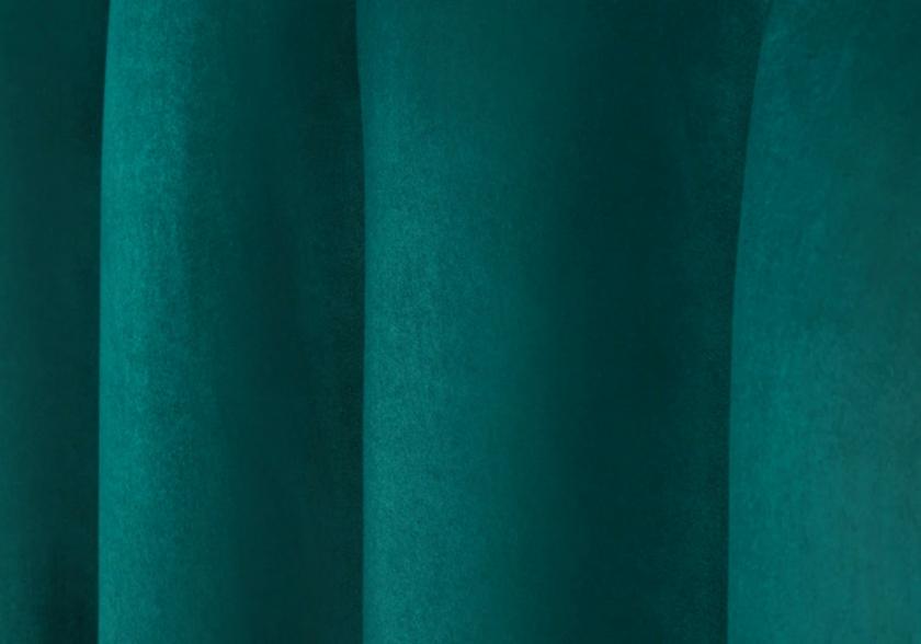 Lit coffre capitonné velours vert CARLA.5
