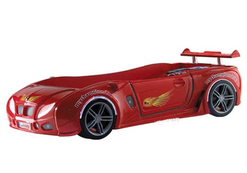 lit enfant voiture course rouge r1 le cadeau qui lui fera plaisir. Black Bedroom Furniture Sets. Home Design Ideas