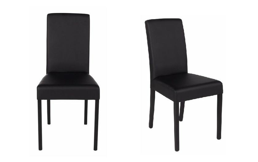chaise simili cuir pas cher. Black Bedroom Furniture Sets. Home Design Ideas