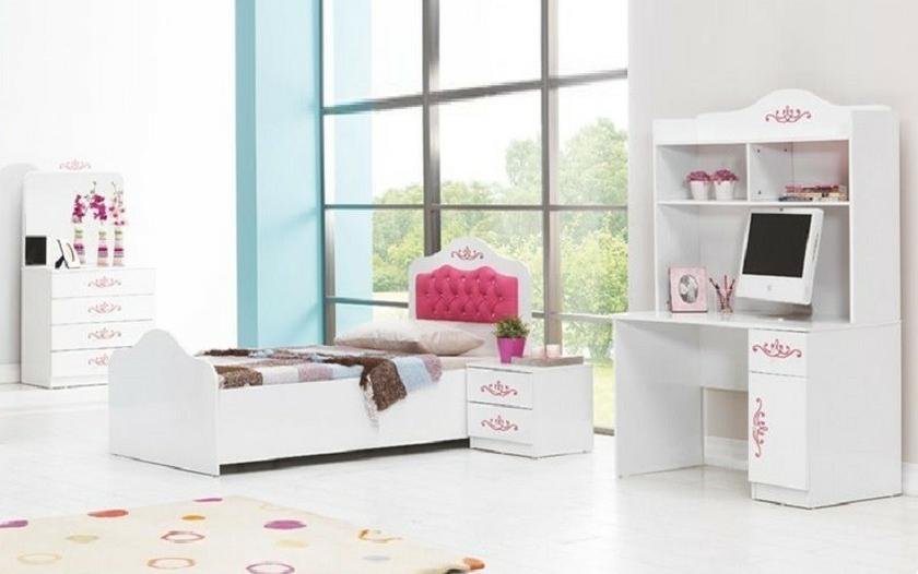 Bureau enfant blanc enjoy design pour la chambre de votre enfant
