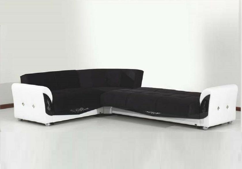 canap angle velours noir milenium canap salon angle. Black Bedroom Furniture Sets. Home Design Ideas