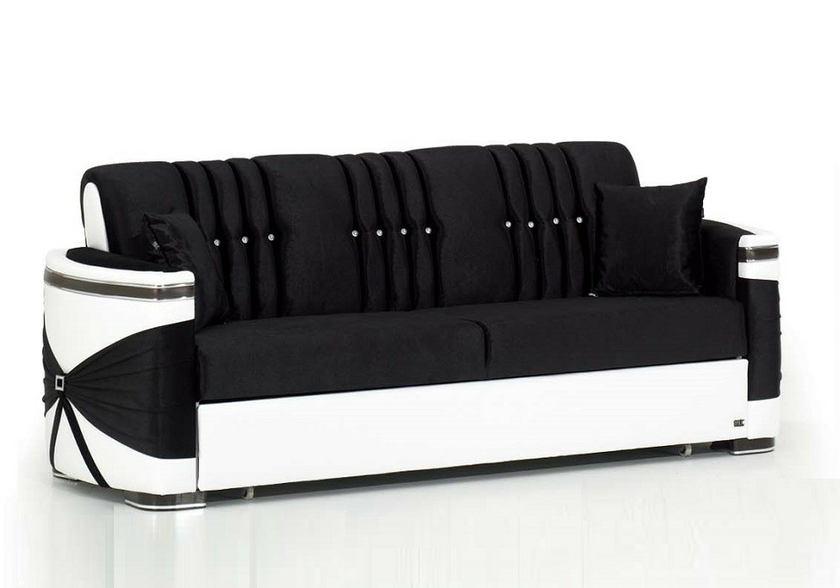 canap convertible lit noir palace canap salon tissu baroque. Black Bedroom Furniture Sets. Home Design Ideas