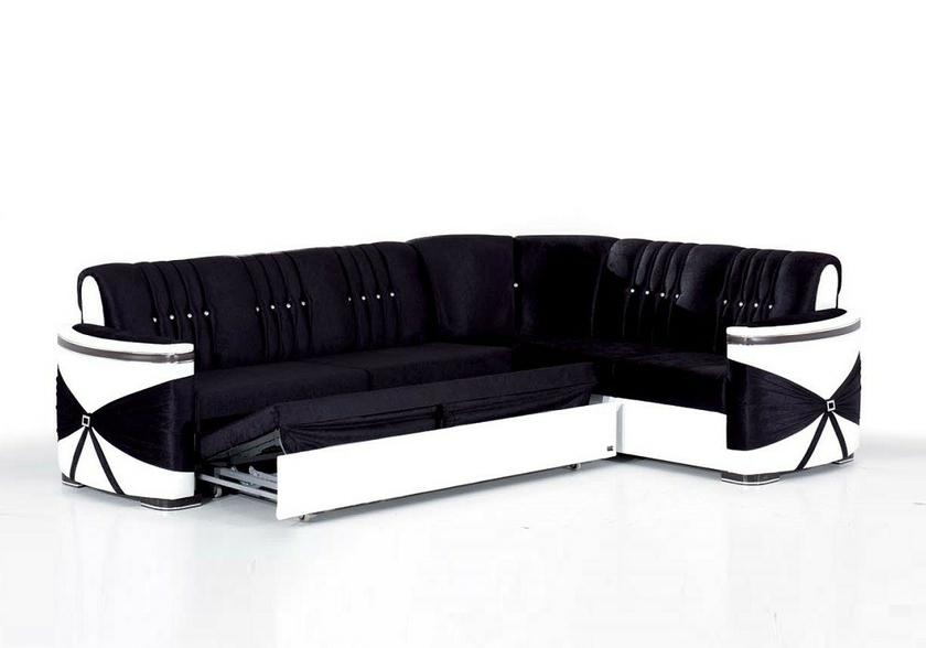 canapé-angle-convertible-lit-noir-blanc-palace
