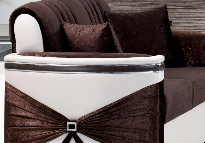 canapé-angle-convertible-lit-marron-blanc-palace