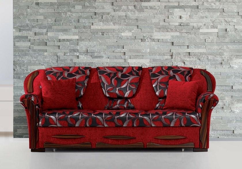 Canap convertible lit rouge efes tr s confortable prix sobre - Canape lit confortable ...