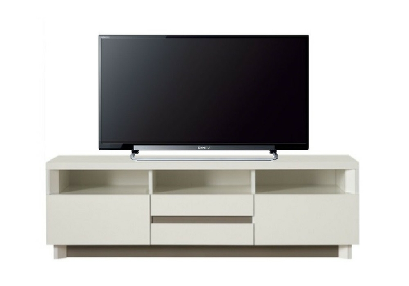 meuble tv design laqu blanc athena design epur e pour votre d co. Black Bedroom Furniture Sets. Home Design Ideas