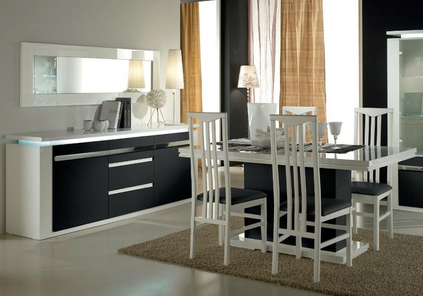 buffetbahut-design-laque-blanc-noir-Éclairage-riva