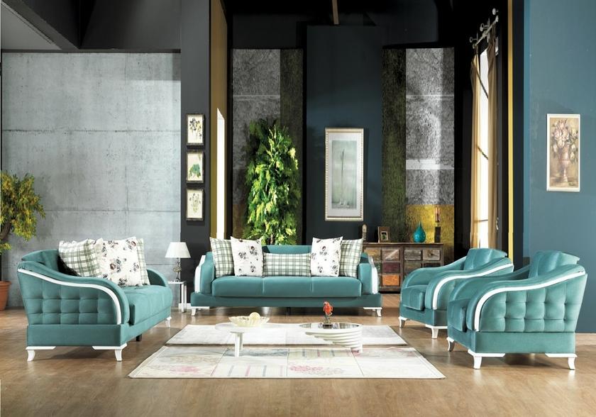 canapé-lit-coffre-tissu-bleu-oxford