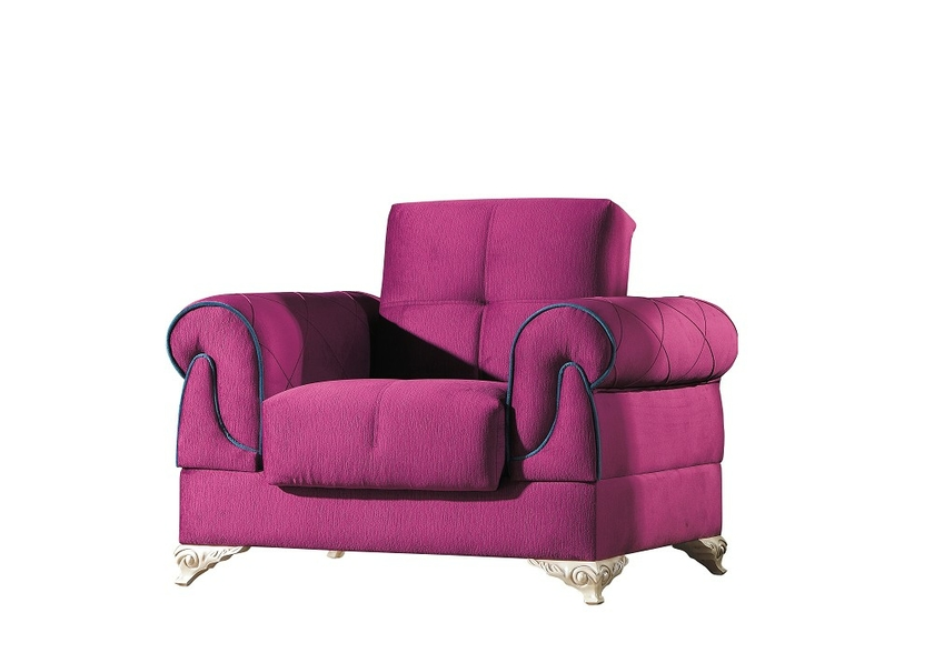 canap lit coffre tissu velours violet golf design confortable. Black Bedroom Furniture Sets. Home Design Ideas
