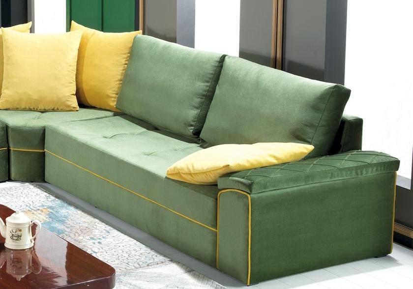 canapé-angle-vert-et-jaune-zigana