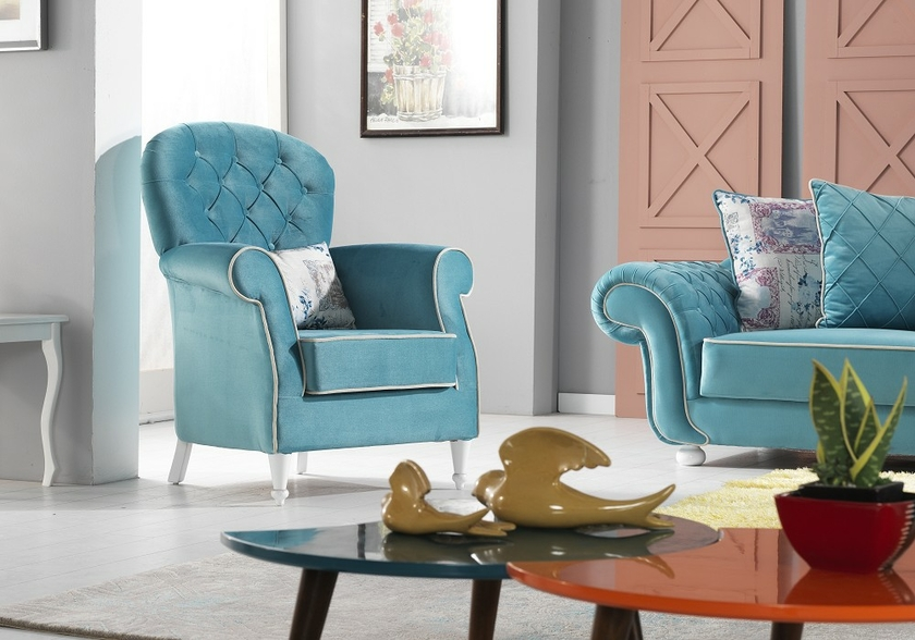 canapé-en-tissu-velours-turquoise-luxury