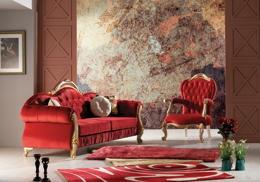canapé-baroque-en-tissu-velours-rouge-otto-