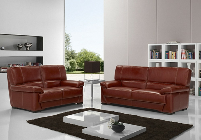 canap cuir design bordeaux alessandre canap salon canap cuir. Black Bedroom Furniture Sets. Home Design Ideas