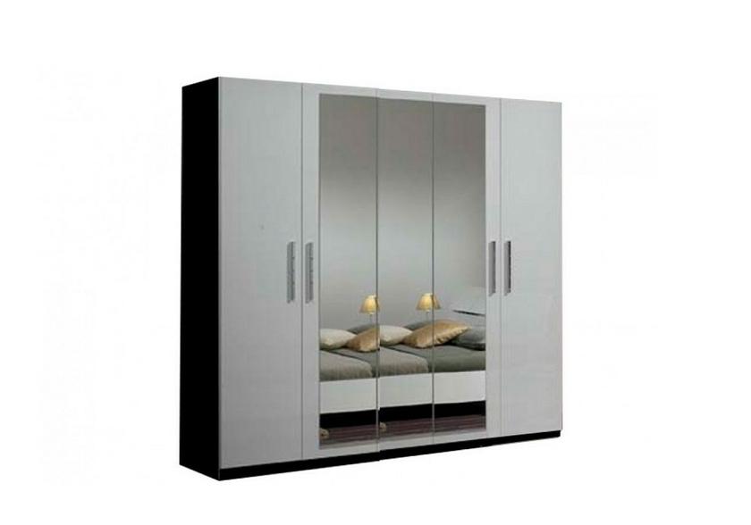 meubles-chambre-a-coucher-adulte-laque-noir-blanc-gloria