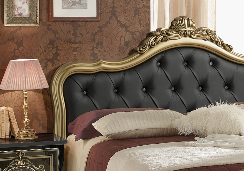 chambre-alice-capitonné-noir-or.2