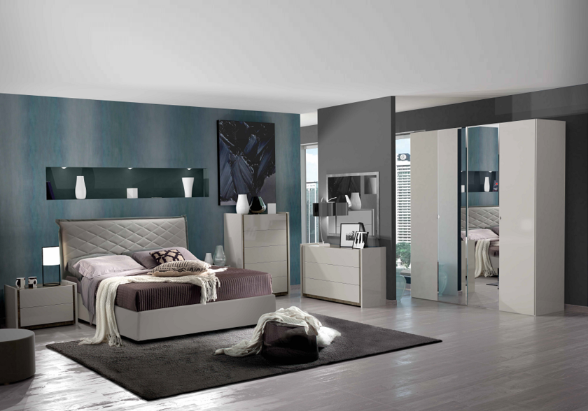 chambre contemporaine valentina collection chambre adulte design. Black Bedroom Furniture Sets. Home Design Ideas