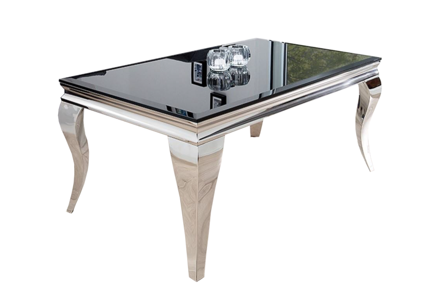 Table Basse Baroque Chromé Neo Collection Design Pas Cher