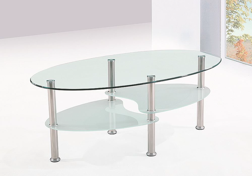 Table basse verre trempé TAO.1