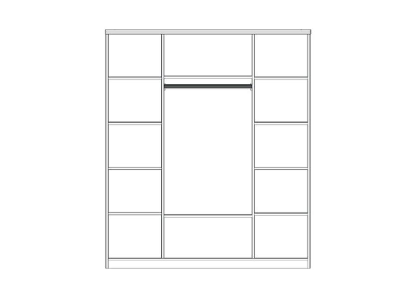 Chambre à coucher complète marbre CARRERA-7