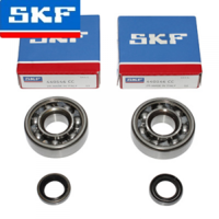 Roulements embiellage MBK Motobécane SKF avec joints spi / spy