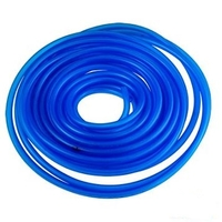 Durite essence souple transparente bleue 5 x 8 par 10 mètres